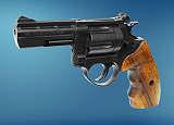 Revolver ME 38 Magnum-6 mm brüniert Holzgriff