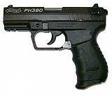 Pistole Walther PK380 schwarz 9 mm kurz + Holster