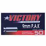 9mm PAK Victory Stahlhülsen 50 Schuss
