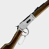 Cowboy Rifle Winchester Luftgewehr silber-Stainless