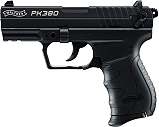 Walther PK380 cal. 9mm P.A.K. Schwarz + Holster