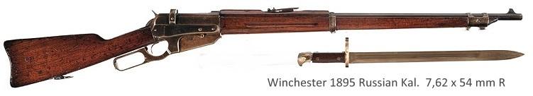 Winchester 1895 Russian